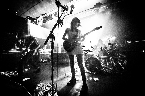 Wolf Alice. Nottingham Rock City. March 2016.