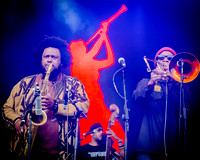 Kamasi Washington. Glastonbury West Holts Stage. 2016.