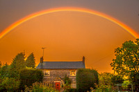 Rainbow.Atlow. Derbyshire.