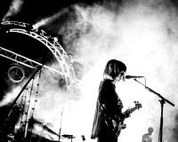 Daughter. Beacons Festival 2014. B/W.