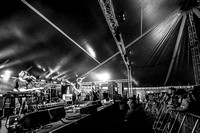 Temples. William's Green. Glastonbury 2014. B/W.