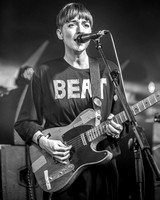 Lonelady. William's Green Stage. Glastonbury 2015. B/W.