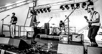 Temple Songs. Beacons Festival 2014. B/W.