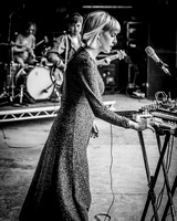 Gwenno. The Park Stage. Glastonbury. 2016.