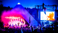 Radiohead. Pyramid Stage. Glastonbury 2017.