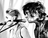 London Grammar. Glastonbury 2013.
