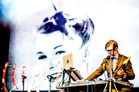 Public Service Broadcasting. West Holts. Glastonbury 2014.