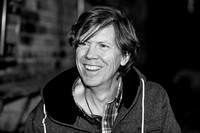 Thurston Moore. DiS interview. Nottingham Bodega Social. November 2014. B/W.