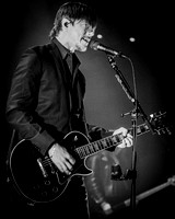Interpol. Camden Roundhouse. February 2015. B/W.