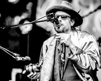 Son of Dave. Shangri-la Stage. Glastonbury 2014. B/W.